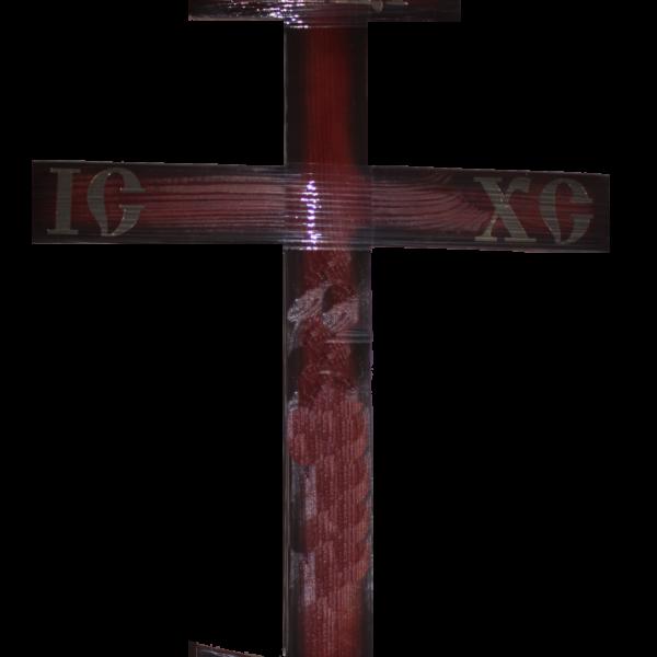 Крест полированный