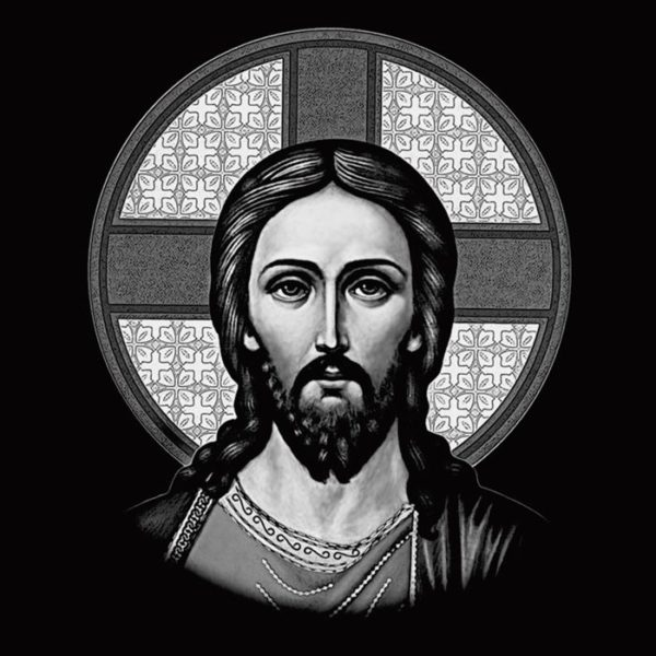Пример рисунка «Иисус Христос»